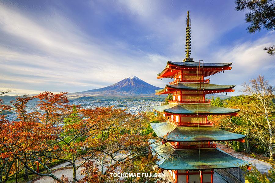 Tochomae fuji san voyage organisé Japon